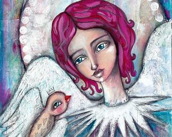 inner Guardian Angel - Art Print