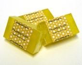 Pineapple Crush Mini GUEST BAR SLS Detergent Free Glycerin Soap