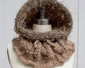 The Elven Urban Hood in Maple with Faux Fur Trim - HuzzahHandmade