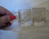 Depression Era Federal Shot Glasses