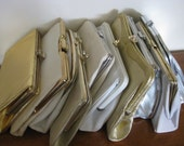Collection of 10 Vintage Handbags 1960's/1970's Destash Craft or Upcycling Lot