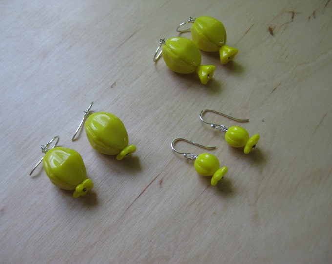 Insouciant Studios Unripe Pomegranate Earrings