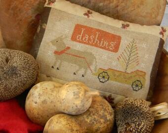 Christmas Donkey - cross stitch PATTERN from Notforgotten Farm