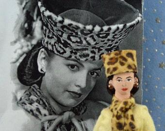 Olivia de Havilland Doll Miniature Golden Age of Hollywood Character Art