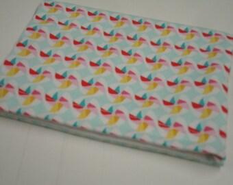 Pinwheels Velcro Pouch Ready to Ship