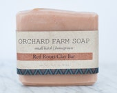 Red Roots Clay Bar//Red Clay Shaving Soap//