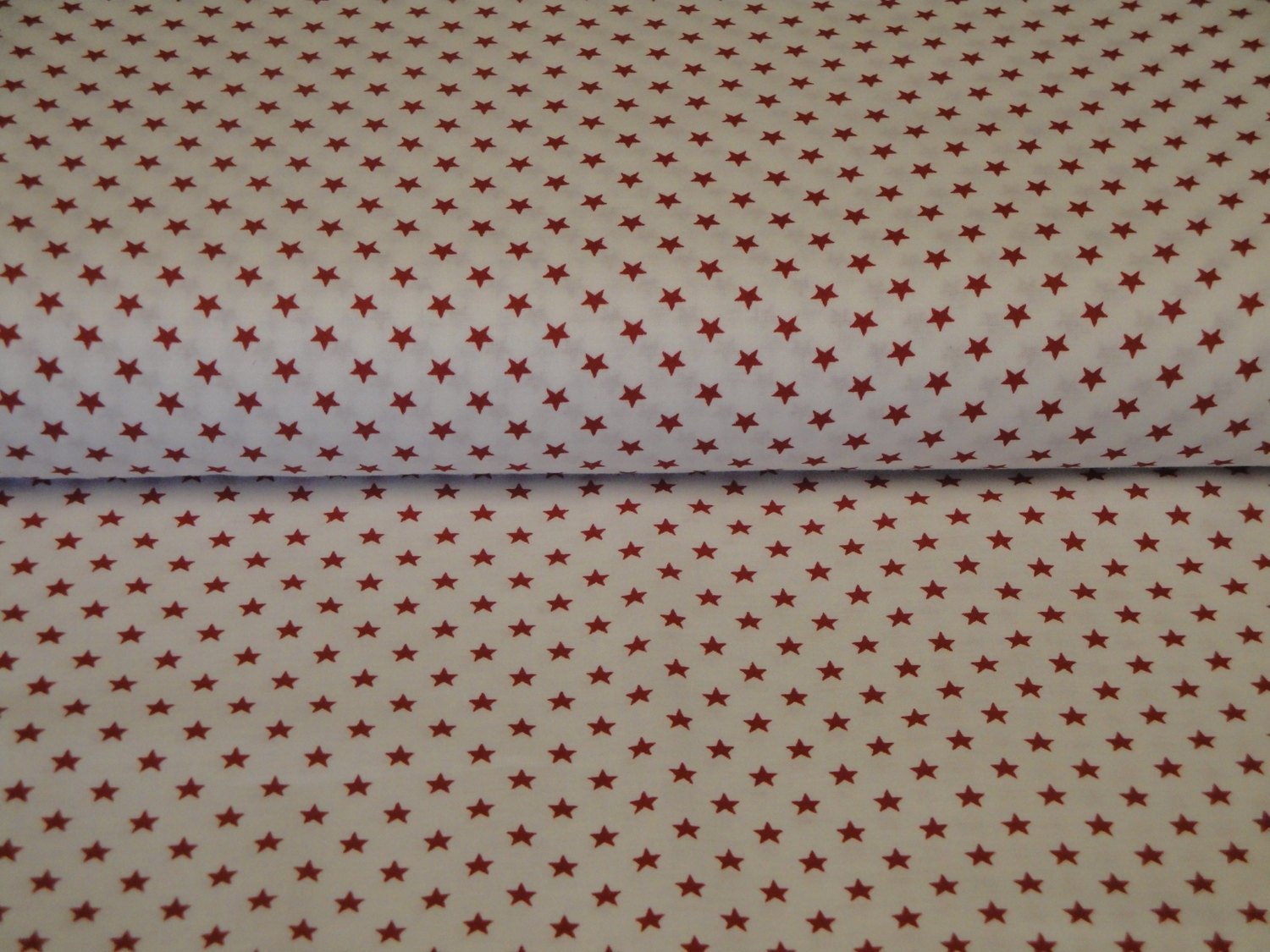 Star fabric cotton fabric with red stars old glory for Star fabric australia