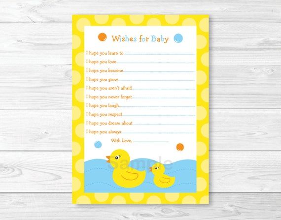 picture relating to Rubber Ducky Printable titled Facts in excess of Lil Rubber Duck Printable Youngster Shower Desires for Child Assistance Playing cards