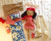 DELUXE DOLL SET— Doll with Fabulous Accessories