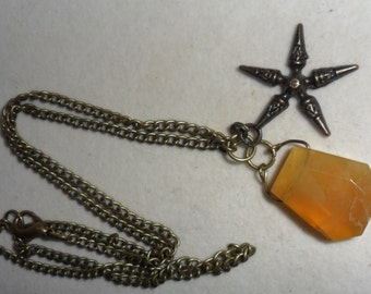 Crystal Healing Opal Amulet of Success, Joy and Opportunity