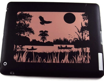 Silicone Ipad 2,3, or 4 Protective Case, Protective Cover, Non Slip Case, Fishing
