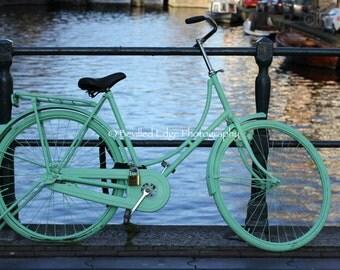 11x14 Amsterdam bike