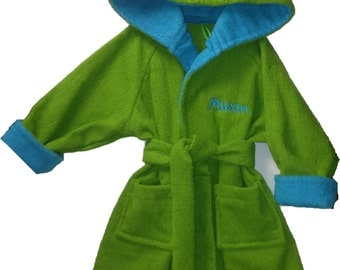 Handmade Child's Terry Bathrobe