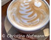 Latte Love instant digital download image