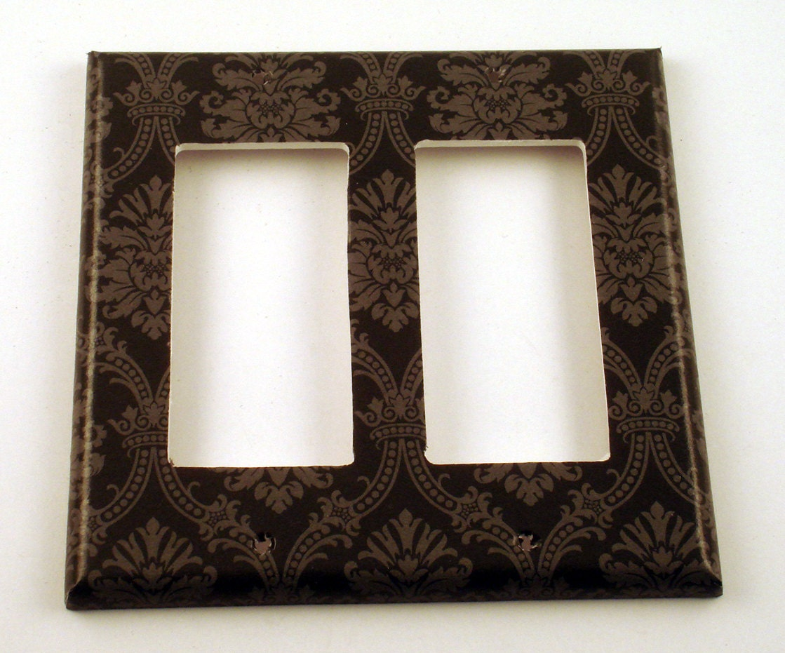 Rocker switch plate wall decor decorative switchplate in - Wall switch plates decorative ...