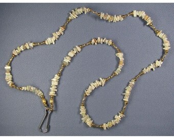 WBL10-Workplace Beaded Lanyard-Opal Chips
