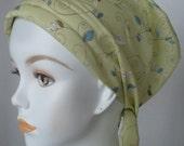 Beautiful Cancer Hat Chemo Cream Scarf Head Wrap Hair Loss Turban Headcovering Bad Hair Day Hat