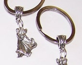 BALLROOM DANCERS Key Ring - Key Chain - Key Holder - Dance, Arts