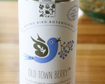 0417 Old Town Berry, organic loose leaf tea