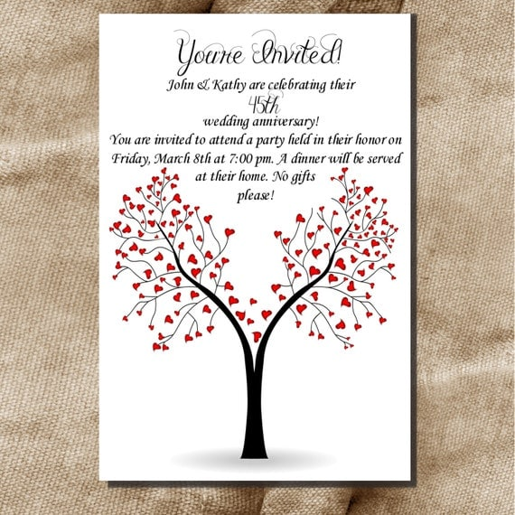 50th Wedding Anniversary Quotes: Items Similar To Printable 30th 40th 50th 60th Wedding