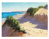 Printable art wall art prints from my Original Oil Painting Beach Dunes