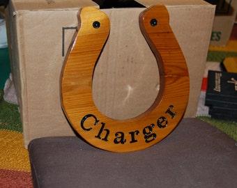 WOODEN SIGN  - Horse Shoe Sign -  Horse shoe Wood Sign/Plaque
