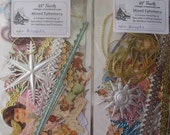 Ephemera Scrapbooking Kit Assorted Scraps Dresden Trims Papers Germany England Craft Supplies ~ Angel Mix