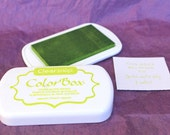 JALAPENO/LIGHT GREEN Color Box Dye Ink Pad