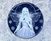 Snowflake Fairy Pocket Mirror