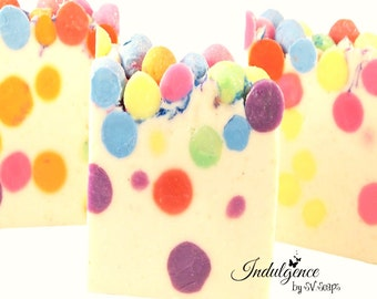 Bubble Luscious Handmade Artisan Soap-Vegan Soap-Cold Process Soap- Gourmet Soap