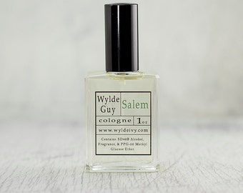 Salem Wylde Ivy Guy Men's Cologne 1oz with magical notes of Incense and Patchouli.