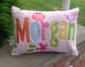 Embellished Personalized Pillow To Match Target Circo Owl