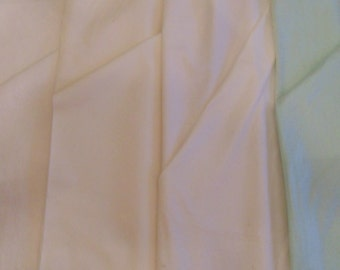 Polyurethane laminate WATERPROOF terrycloth or quilted durable fabric white mint
