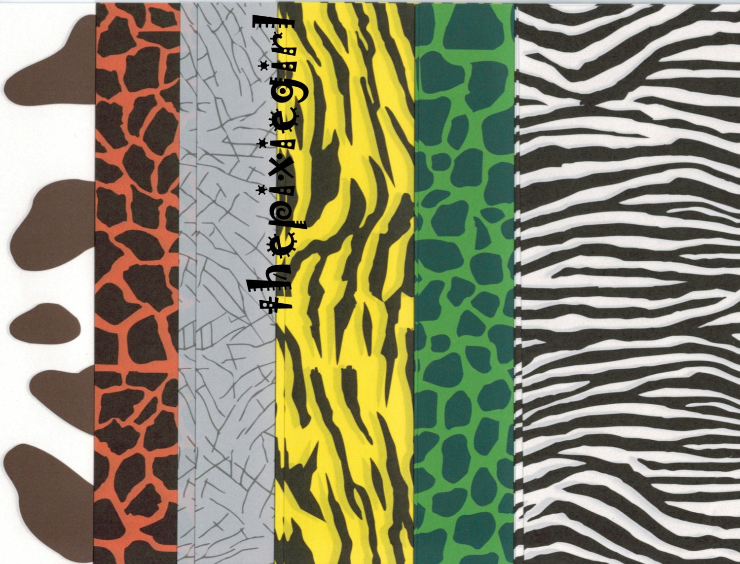 ORIGAMI PAPER JAPANESE 24 Sheets 6 Different Animal prints ... - photo#43
