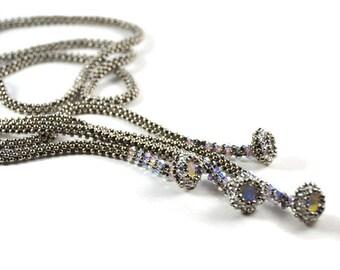 Bellatrix Necklace Silver Beading Kit
