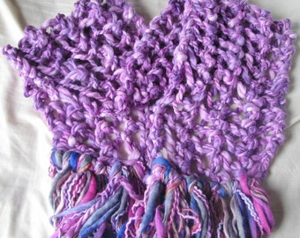 WINTER OFFER - Peony Hand Knitted Long Soft Warm Wraparound Scarf