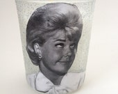 Doris Day glitter votive candle and holder