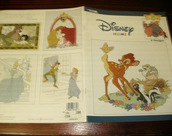 Counted Cross Stitch Charts Disney Classics Disney Homes Leisure Arts 3365 Disney Counted Cross Stitch Leaflet