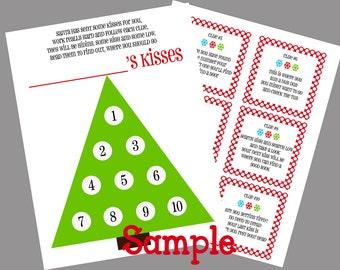 DIY Printable Christmas Elf Scavenger Hunt