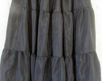 Black Bellydance gypsy dance skirt