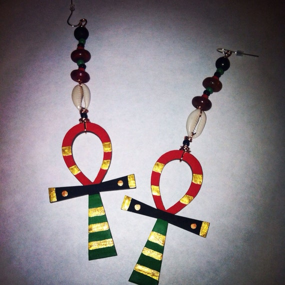 Culture Kemetic Afrocentric Earrings By BOABW On Etsy