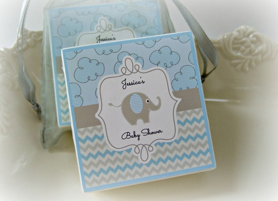 baby boy shower favors elephant shower favors set of 10 soap favors