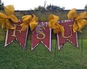 FSU Fishtail Banner Garland