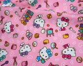 Hello Kitty Fabric Hello kitty and sweets