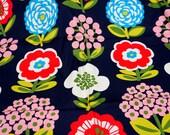 ON SALE Flower Print 1 meter nc45