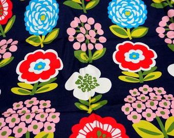 ON SALE Flower Print 1 meter (n341)