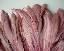 RUSTICA COQUE FEATHERS  / Vintage French Rose Pink   / 1316