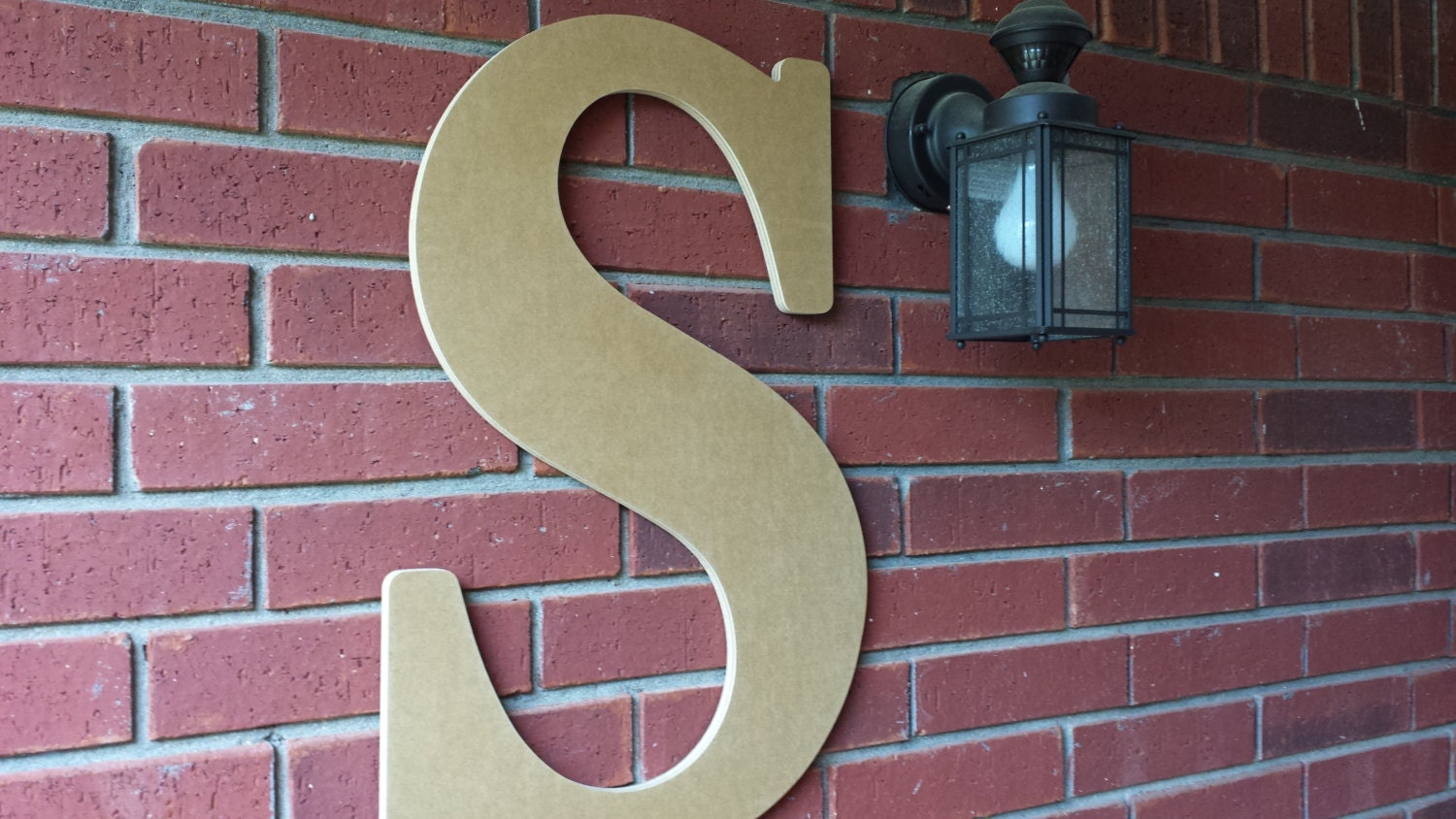 36 inch large wooden letter for indoor or outdoor use With big outdoor letters
