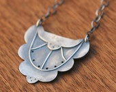 Villa Marie Necklace from the Zelda Collection, Art Deco-inspired silver