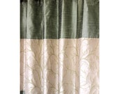 "Green Tree Forest Curtain Panels 52""x84"" Grommet Lined Drapes Valance Home & Living Decor And Housewares Window Treatments Blackout"